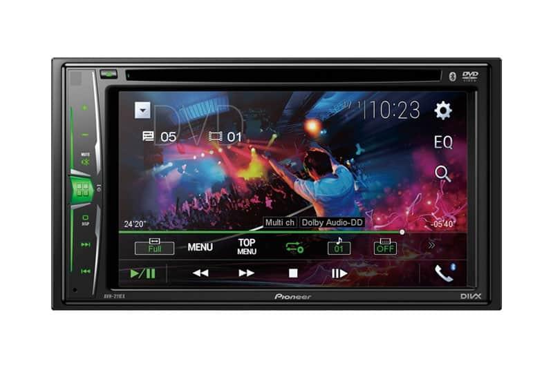 Pioneer AVH-211EX Multimedia DVD-Receiver with 6.2″ WVGA Display