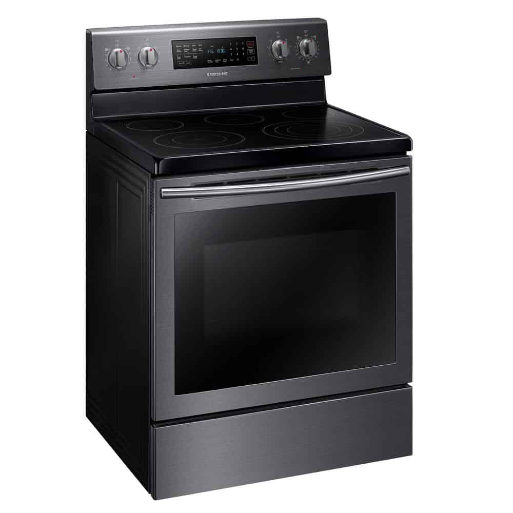 Samsung 5 9 Cu Ft Electric Range With True Convection