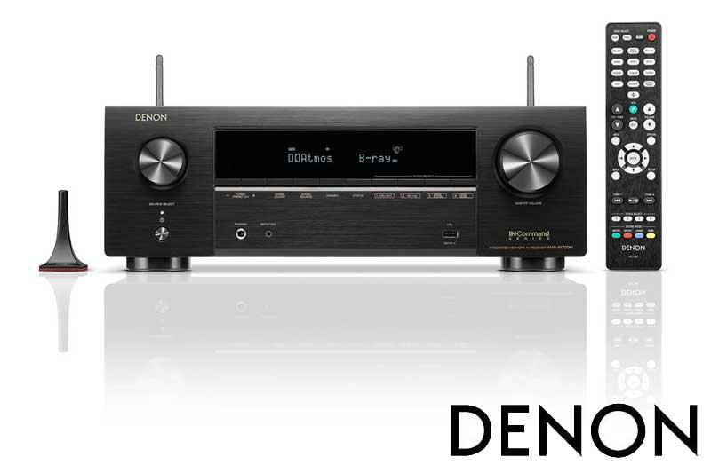 Denon AVR-X1700H 7.2ch 8K AV receiver