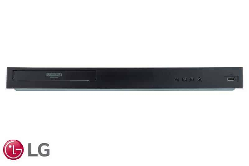 LG 4K Ultra-HD Blu-ray Disc™ Player with Streaming Services and Built-in Wi-Fi® UBK90